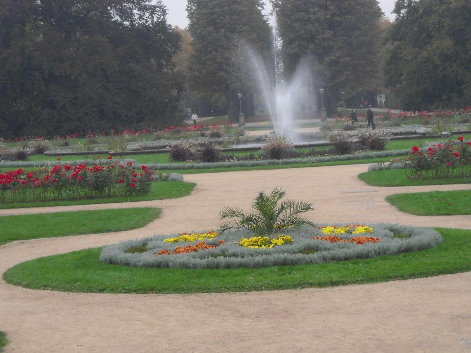 ogrody renesansowe z fontanna