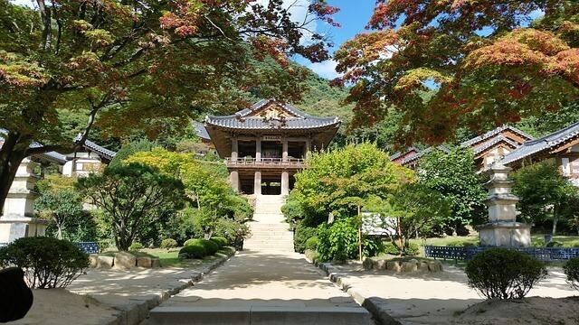 korea 951111 640 - Ogrody koreańskie - niepowtarzalny koloryt ogrodów